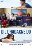 Farhan Akhtar, Ranveer Singh, Priyanka Chopra, Anushka Sharma, Anil Kapoor and Shefali Shah starrer Dil Dhadakne Do Movie Poster 1