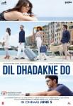 Farhan Akhtar, Ranveer Singh, Priyanka Chopra, Anushka Sharma, Anil Kapoor and Shefali Shah starrer Dil Dhadakne Do Movie Poster 2