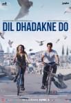 Anushka Sharma and Ranveer Singh in a Dil Dhadakne Do Movie Poster