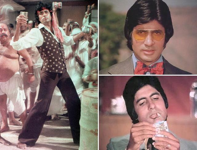 Movie Stills of Amitabh Bachchan in 'Don 1978'