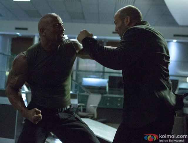 still from movie 'Fast & Furious 7'
