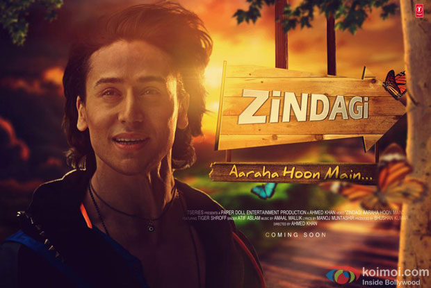 First Look : Tiger Shroff's Song With Atif Aslam 'Zindagi Araha Hoon Main'