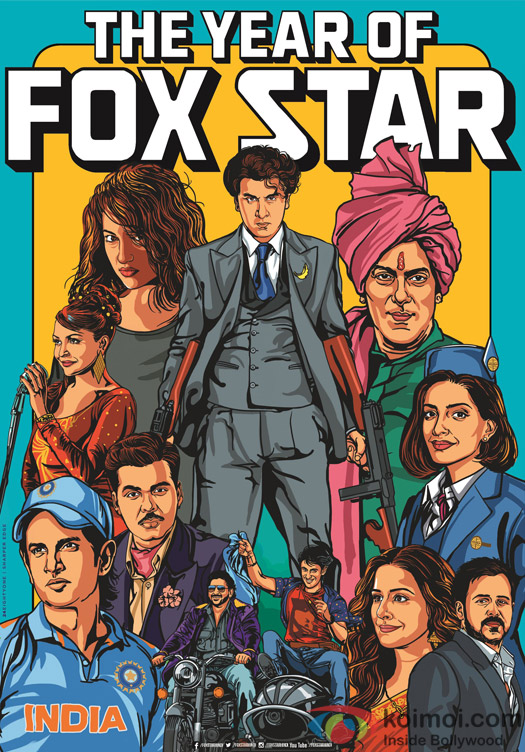 The Year Of Fox Star : Ranbir Kapoor, Anushka Sharma, Salman Khan, Sonam Kapoor, Sonakshi Sinha, Emraan Hashmi, Vidya Balan