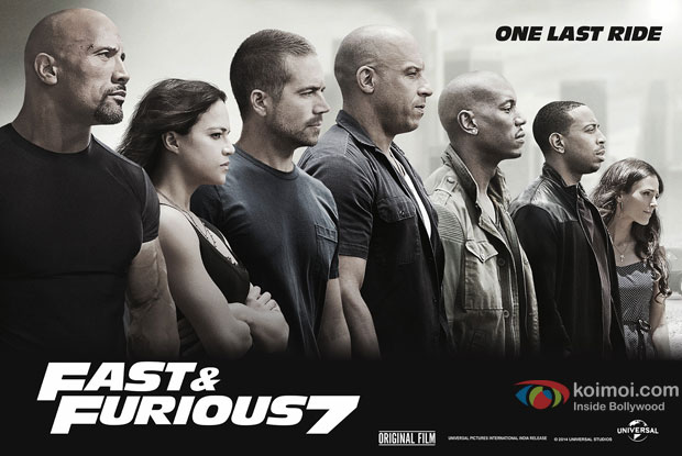 still from movie 'Furious 7'