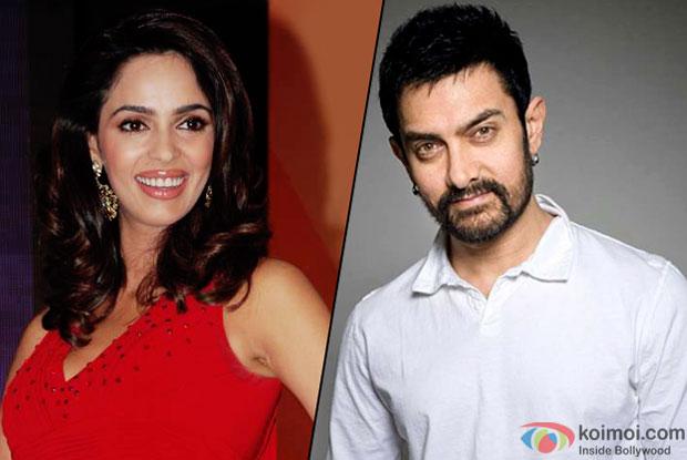 Mallika Sherawat and Aamir Khan