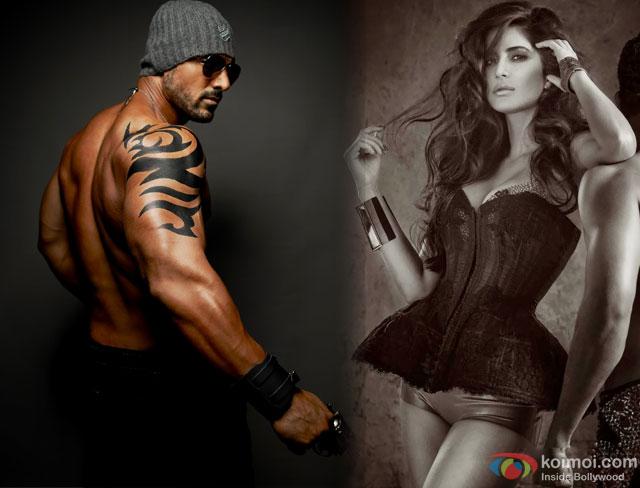 John Abraham and Katrina Kaif