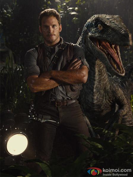 still from movie 'Jurassic World'