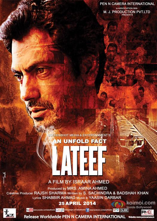 Nawazuddin Siddiqui starrer 'Lateef' Movie Poster