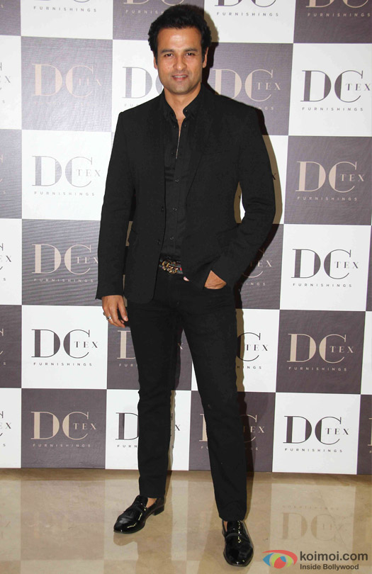 Rohit Roy during the launch of Dicitex Furnishing Tie Up With Warner Bros