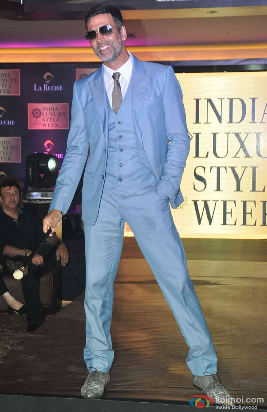 Akshay Kumar at the launch of India Luxury Style Week 2015