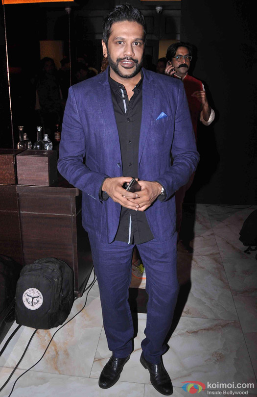 Rocky S at the launch of India Luxury Style Week 2015