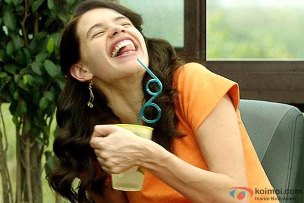 Kalki Koechlin in a still from movie 'Margarita With A Straw'