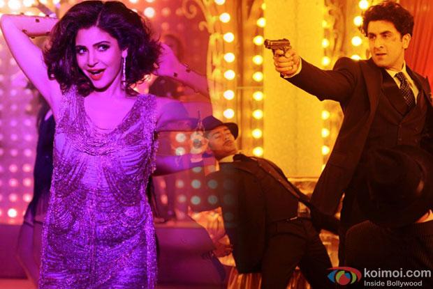 Anushka Sharma and Ranbir Kapoor in 'Mohabbat Buri Bimari' song still from movie 'Bombay Velvet'