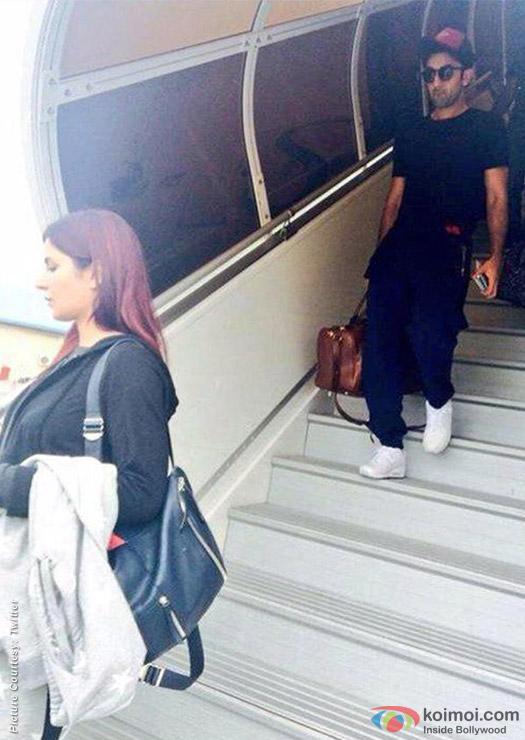 Ranbir Kapoor- Katrina Kaif Take Off  For A Maldives Vacation!