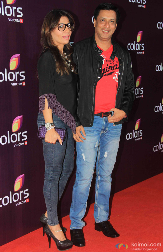 Madhur Bhandarkar during the red carpet of Colors Party 2015