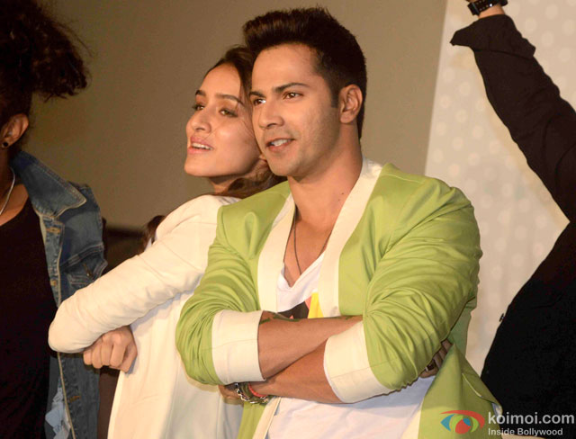 Shraddha Kapoor and Varun Dhawan during the trailer launch of movie 'ABCD – Any Body Can Dance 2'