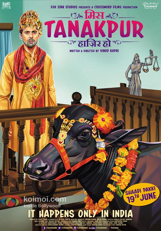 Rahul Bagga in a 'Miss Tanakpur Haazi Ho' movie poster