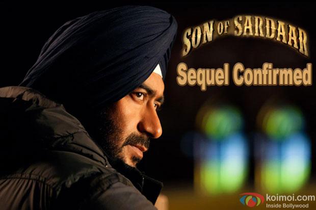 Ajay Devgn in a still from movie 'Son Of Sardaar'