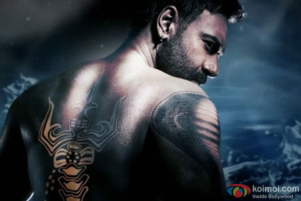 Ajay Devgn in a still from movie 'Shivaay'