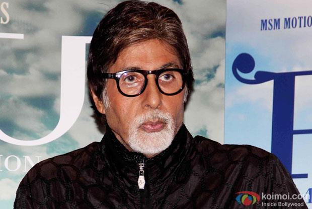 Amitabh Bachchan at an event