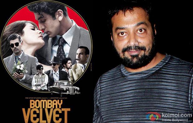 Bombay Velvet movie poster and Anurag Kashyap