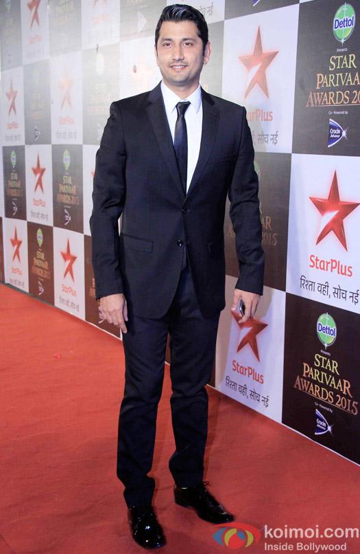 Marzi Pestonji during the Star Parivaar Awards 2015