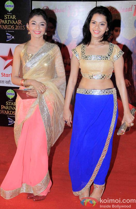 Pooja Sharma during the Star Parivaar Awards 2015