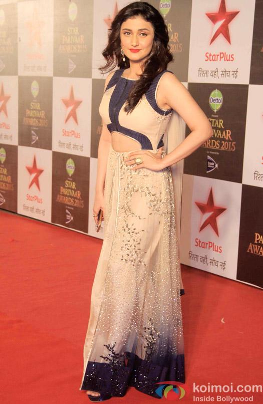 Ragini Khanna during the Star Parivaar Awards 2015