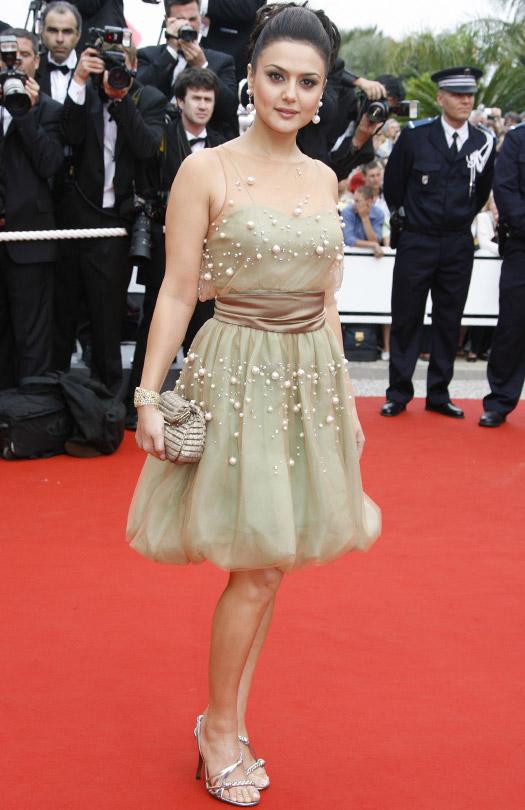 Preity Zinta At Cannes Film Festival 2006
