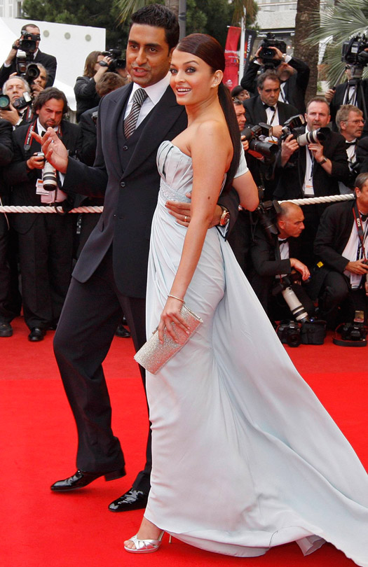Abhishek Bachchan and Aishwarya Rai At Cannes Film Festival 2009