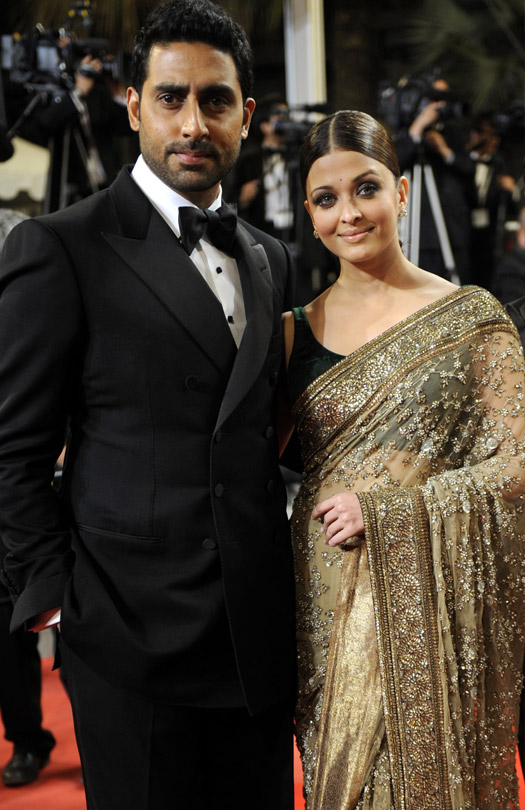 Abhishek Bachchan and Aishwarya Rai At Cannes Film Festival 2010