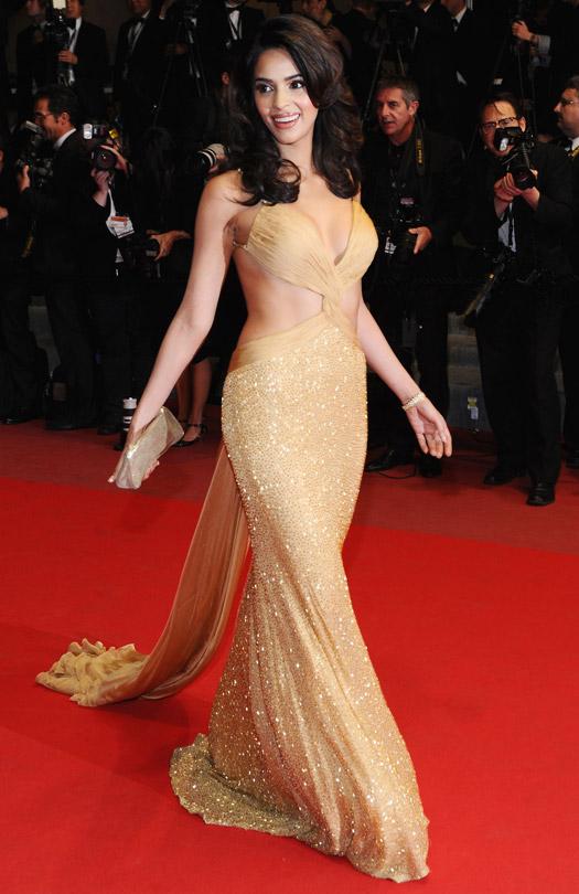 Mallika Sherawat At Cannes Film Festival 2010
