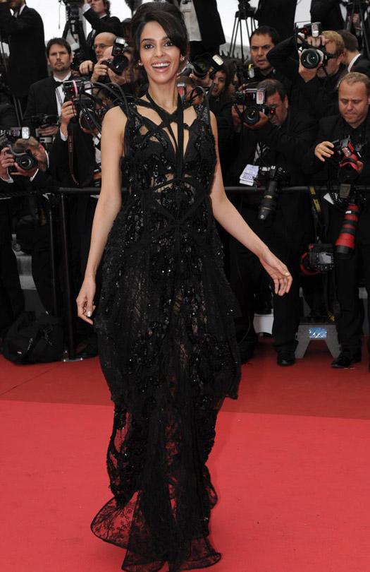 Mallika Sherawat At Cannes Film Festival 2011