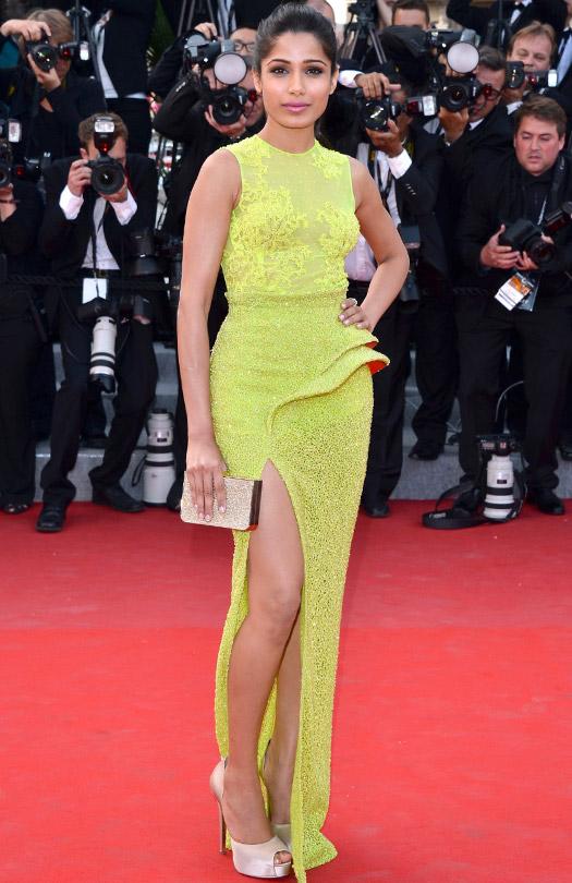 Freida Pinto At Cannes Film Festival 2012