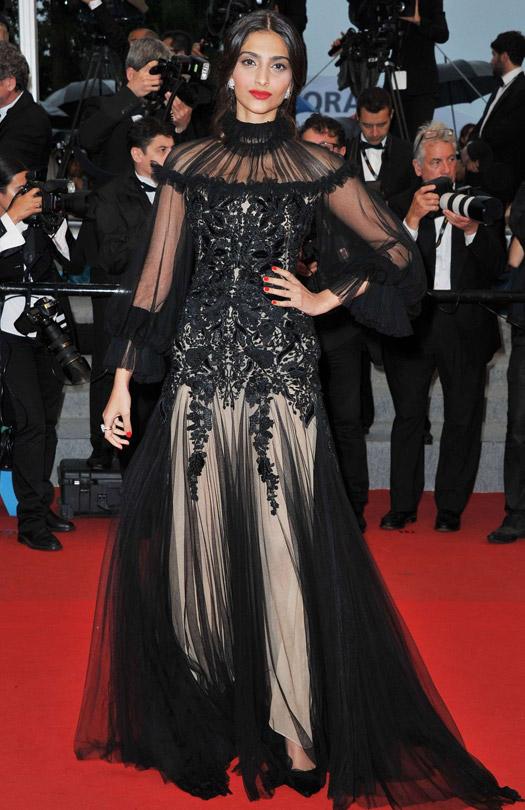 Sonam Kapoor At Cannes Film Festival 2012