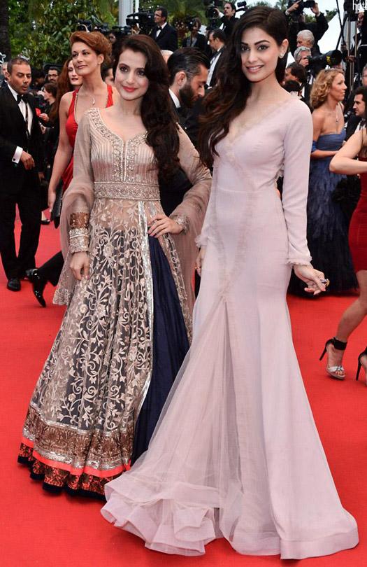 Ameesha Patel and Puja Gupta At Cannes Film Festival 2013
