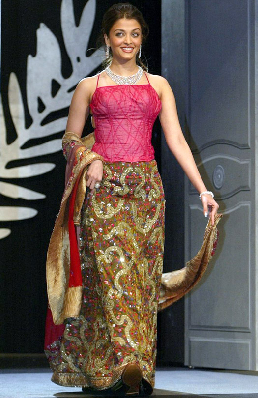 Aishwarya Rai At Cannes Film Festival 2003