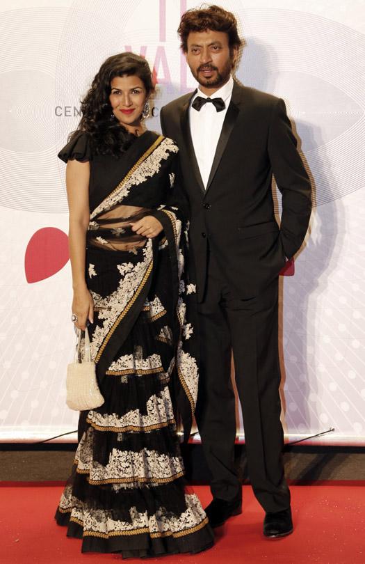 Irrfan Khan and Nimrat Kaur At Cannes Film Festival 2013
