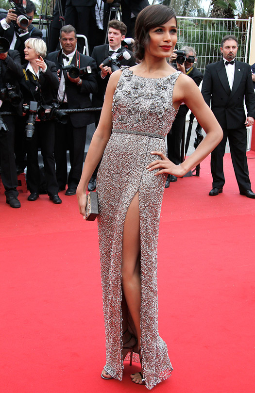 Frida Pinto At Cannes Film Festival 2013