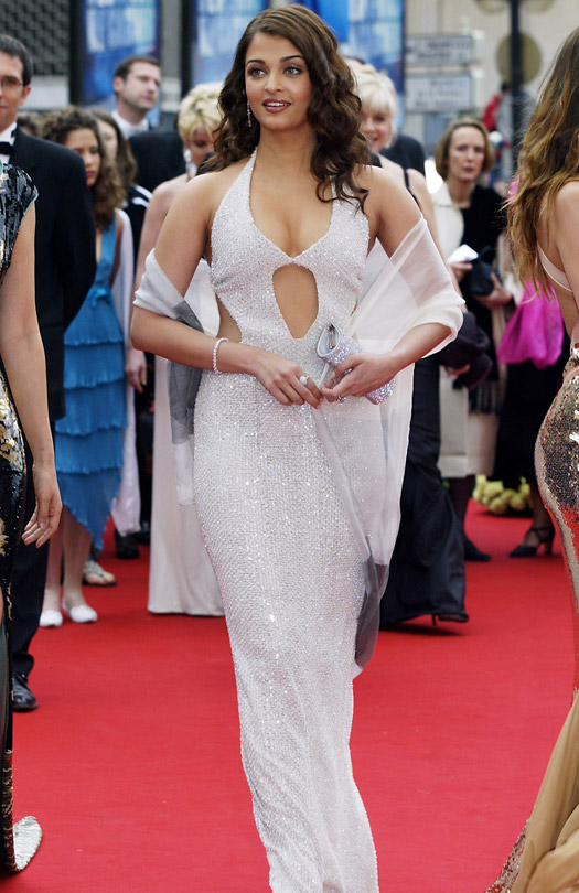 Aishwarya Rai At Cannes Film Festival 2004