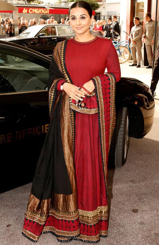 Vidya Balan At Cannes Film Festival 2013