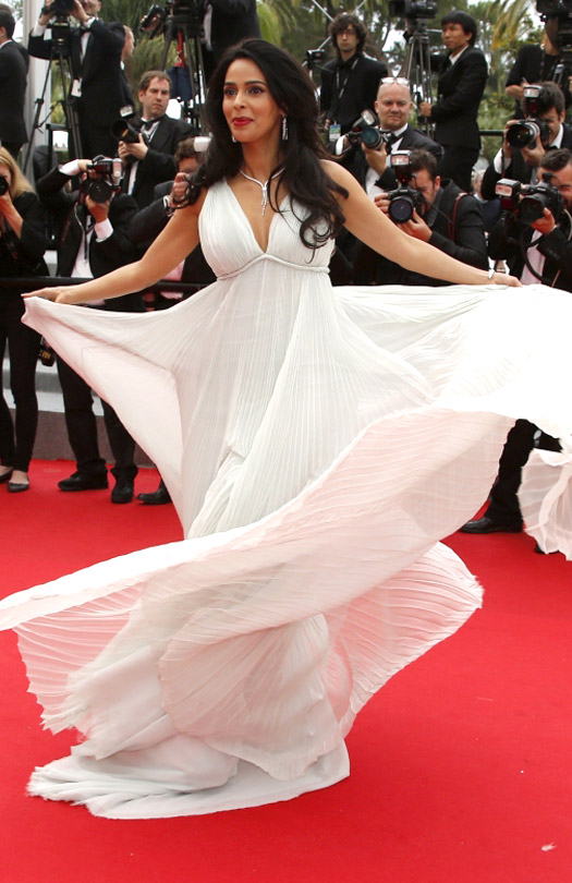 Mallika Sherawat At Cannes Film Festival 2014