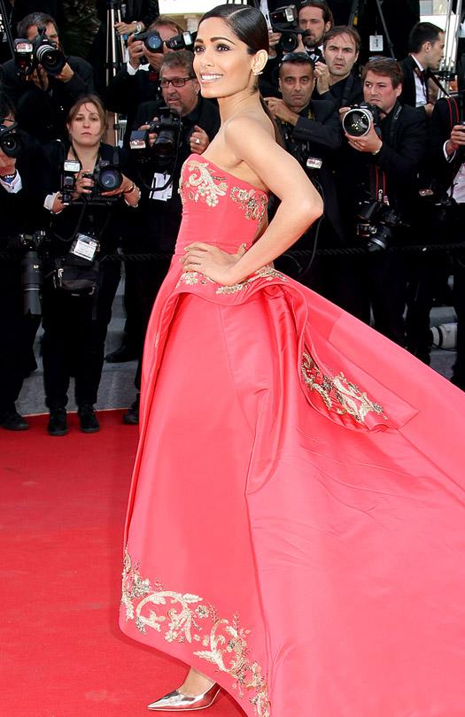 Freida Pinto At Cannes Film Festival 2014