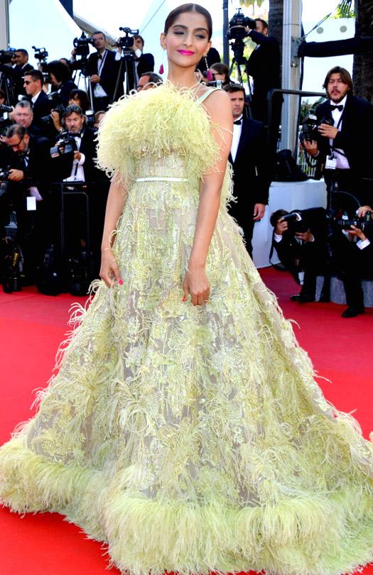 Sonam Kapoor At Cannes Film Festival 2015