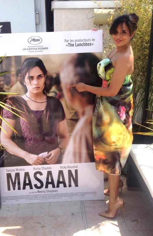 Richa Chadda At Cannes Film Festival 2015