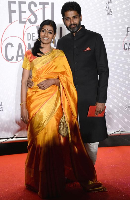 Nandita Das At Cannes Film Festival 2005