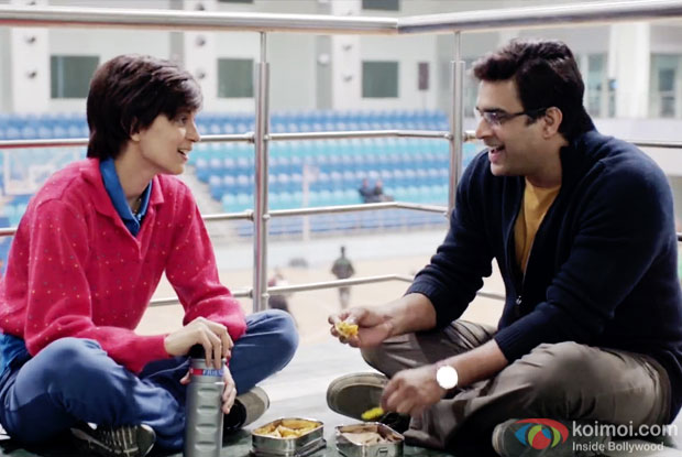 Kangana Ranaut and R. Madhavan in a still from movie 'Tanu Weds Manu Returns'