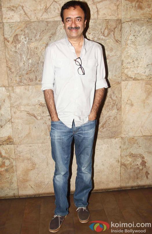 Rajkumar Hirani during the special screening of Tanu Weds Manu Returns