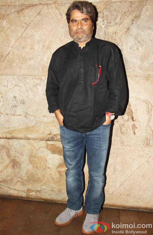 Vishal Bhardwaj during the special screening of Tanu Weds Manu Returns