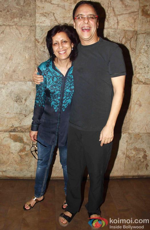 Vidhu Vinod Chopra during the special screening of Tanu Weds Manu Returns